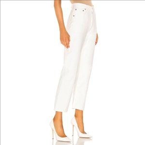 Agolde Ripley Capsule Straight White Jeans 28 NWT